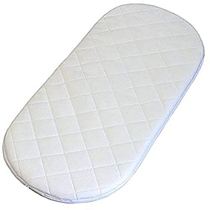 INSPIRE BABY MOSES BASKET / PRAM OVAL SHAPED MATTRESSES QUILTED SOFT Have one to sell? Sell it yourself ALL SIZES (64 X 28 X 3.5 CM) United Kingdom