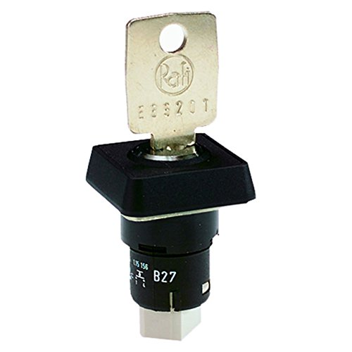 RAFI USA SWITCH KEYLOCK SPST-NO 0.1A 35V Keylock Switches 1.15156.0010000 by RAFI USA