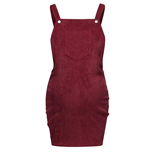 Iusun Women's Maternity Dress Sling Vest Solid Sleeveless Skirt Sundress Nursing Breastfeeding Pregnants for Summer Daily Vacation Holiday