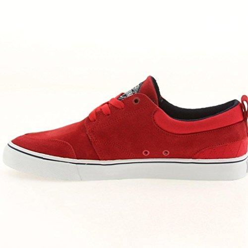 Huf Hombres Ramondetta Pro Sneaker Red & Navy
