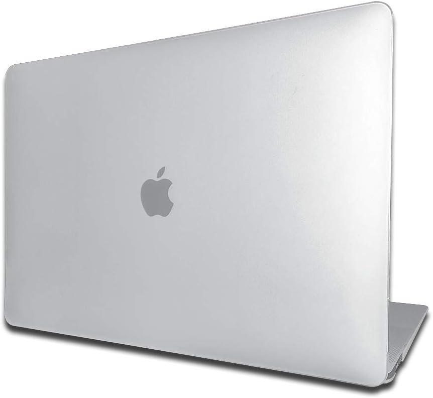 PETERONG Funda Dura Case para MacBook Pro 13 Pulgadas 2018/2017/2016 (Modelos A1989/A1706/A1708), Delgado Cubierta Plástico Dura Case Carcasa Compatible con MacBook Pro 13 Pulgadas(Claro)