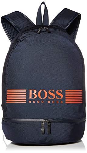 Image of BOSS Hugo Boss Men's Pixel Nylon Backpack, Navy, One Size