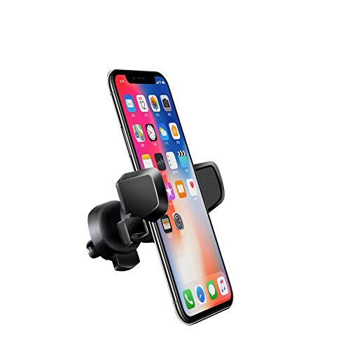 Car Phone Mount Kcondicee Universal Car Air Vent Phone Holder Stand Cradle 360 Degree Rotation Multifunction for iPhone XR XS Max 8/8 Plus 7/7Plus 6s/6s Plus 6/6 Plus Samsung and More (Stand Degree 360 Rotation)
