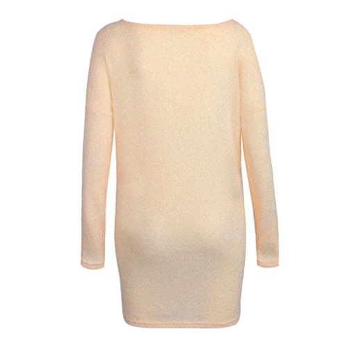 Sweat Tricot Hiver over Col Lache Automne Casual Landove Chandail V en Manche Femme Pull Longue Chaud Pull B4qgXwag