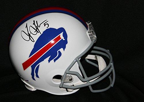 TYROD TAYLOR Signed Buffalo Bills Full Size Helmet Autograph PSA / DNA (Signed Taylor Autograph)