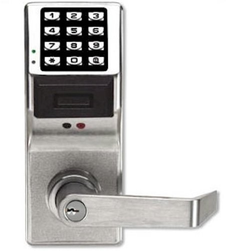 Alarm Lock Systems Inc. PDL3000 US26D Trilogy T3 Prox AND Keypad Cylindrical 26D, Satin (Alarm Lock)