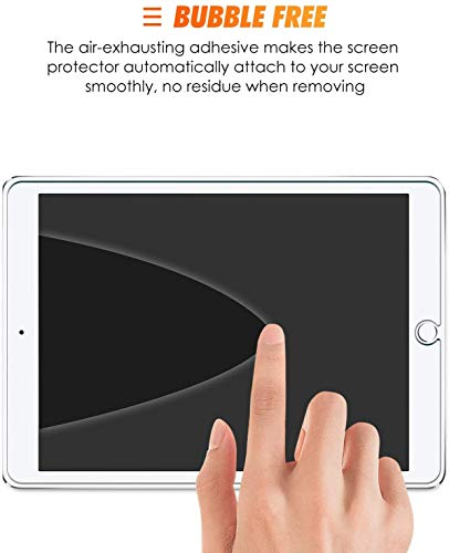 SPARIN [3 Pack] Tempered Glass Screen Protector Compatible with iPad 8th Generation / iPad 7th Generation (10.2 inch)
