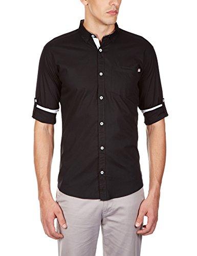 GHPC Casual Plain/Solid 100% Slim Fit Cotton Shirt-SPL