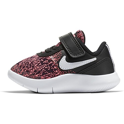 Nike Flex Contact (TDV), Zapatillas de Trail Running Unisex Niños Multicolor (Black/White/Racer Pink 001)