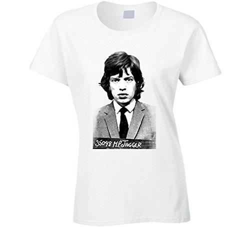 Jessica Alba Style Young Mick Jagger White T Shirt XL - Style Alba Jessica