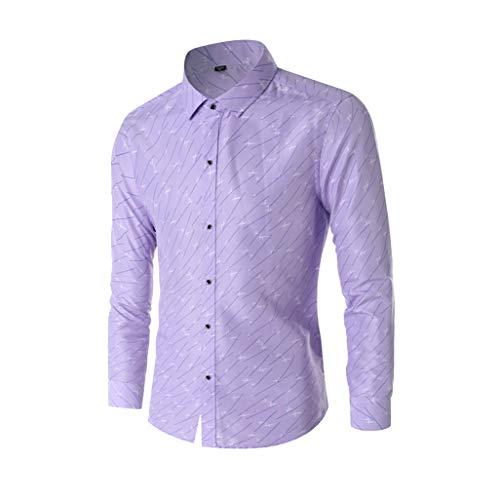 Summer Mens New Cotton Small Plaid Short Sleeve Casual Shirt Lapel Business Tops -