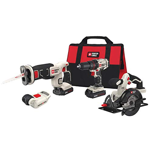 PORTER-CABLE PCCK616L4 Power Tool Combo Kit (Pack of 1)