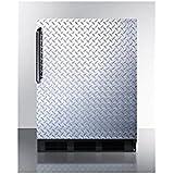 Summit ALB653BDPL Refrigerator, Silver