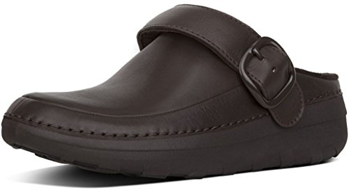 6c15a059aff0 Galleon - FitFlop Trade  Womens Gogh™ Pro Superlight Leather Clogs  Chocolate Brown Size 5