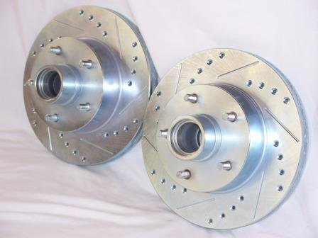 - 1979 1980 1981 Pontiac Trans Am Front & Rear Brake Disc Rotors +Ceramic Pads