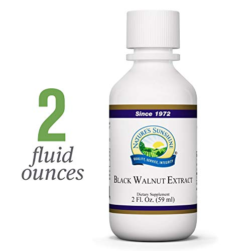 Nature's Sunshine Black Walnut Extract, 2 fl. oz. | Helps Maintain The Intestinal System and Supports The Immune System