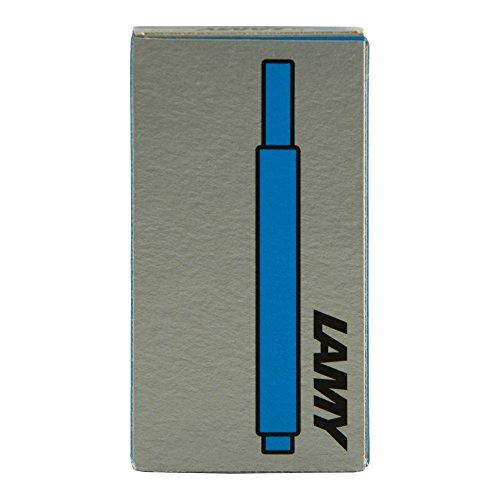 Lamy T-10 Pacific Ink Cartridges Pkg 5