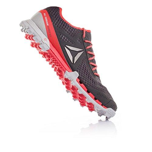 Reebok Bd2169 Damen Trail Running Schuhe Grau (grigio Cenere / Cranio Grigio / Corallo Di Fuoco / Pwtr)