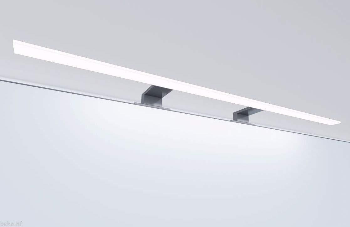 4000/ºk luz Neutra Aplique de Ba/ño Led para espejo de Aluminio 80 cm 15w 1440 Lm