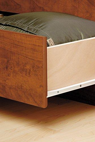 Prepac CBQ-6200-3K Queen Sonoma Platform Storage Bed with 6 Drawers