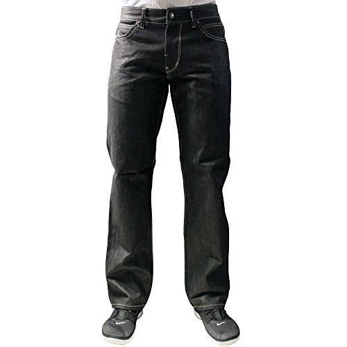 LRG Grass Roots True Straight Fit Jeans Raw - Straight Fit Jean Denim Root