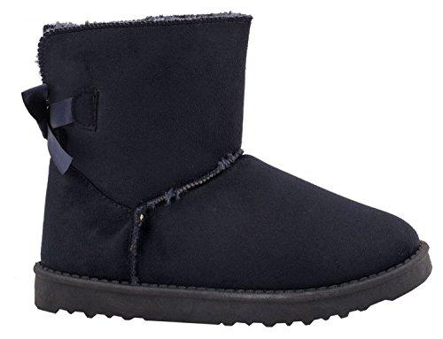 Elara Women's Slip-On Boots Navy jMKnXL