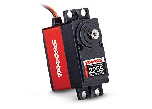 Traxxas 2255 Waterproof Metal Gear Aluminum Servo Digital High-Torque 400 Brushless, Red