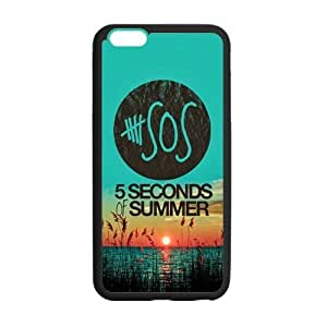 Generic 5 Second Of Summer 5SOS Custom Case Cover For IPhone6 Plus 5.5