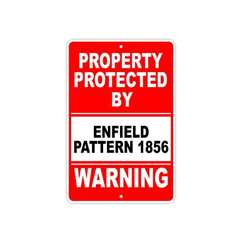 - Protected by ENFIELD PATTERN 1856 Gun Pistol Rifle Revolver Ammo Aluminum 8