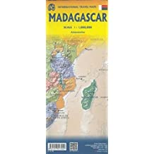 MADAGASCAR Travel Reference map