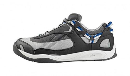 Gill Damen und Herren Bootsschuh Deck Tech Race Trainer, Größe:40 EU, Farbe:grey/blue