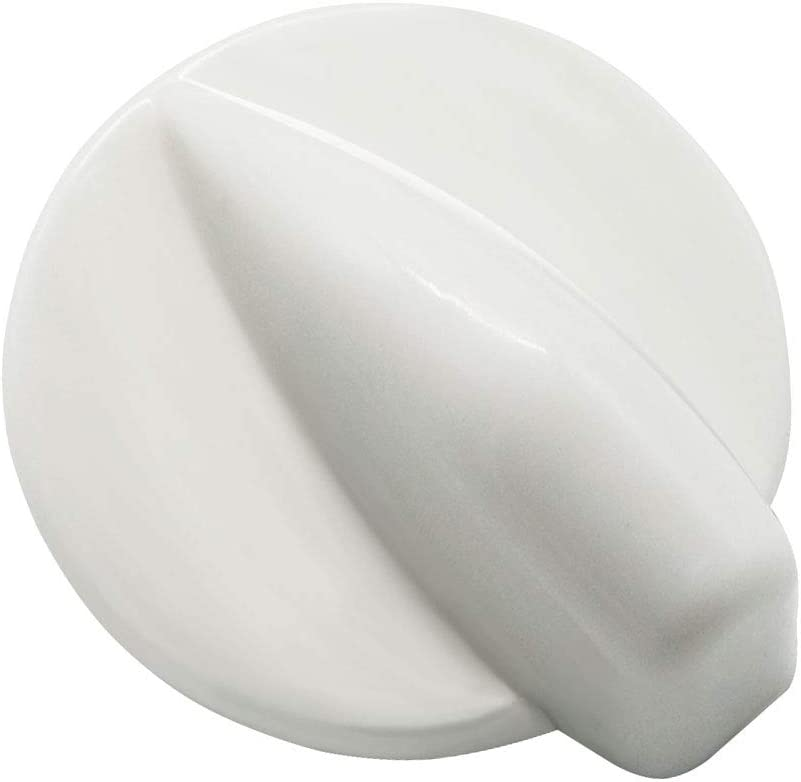 Primeswift 8181859 Washer Dryer Control Knob,Replacement for 8181859,AP3128772,White