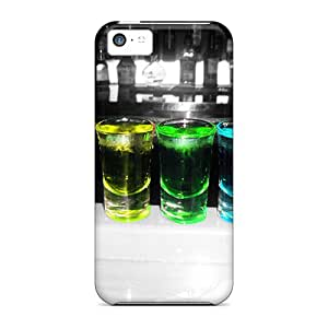 (bkI32599etqE)durable Protection Cases Covers For Iphone 5c(rainbow Shots)