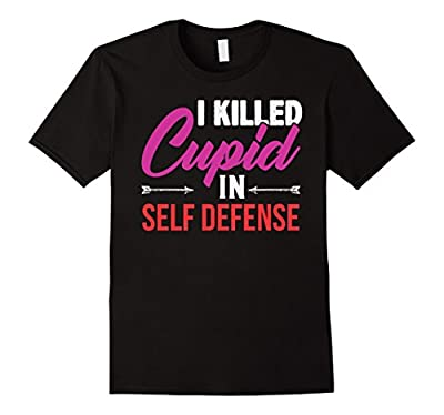 Funny Valentine's T-Shirt for the Single on Valentine's Day