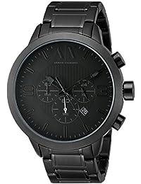 d73d0e0f0a1 Armani Exchange Men s AX1277 Black Watch