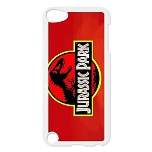iPod Touch 5 Case White Jurassic park Htlu