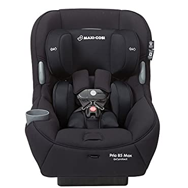 Maxi-Cosi Pria 85 Max Convertible Car Seat, Night Black (CC213EMJ)