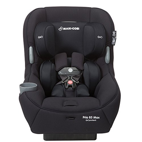 Maxi-Cosi Pria 85 Max Convertible Car Seat, Night Black, One Size