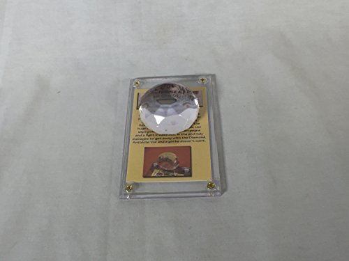 Raiders Of The Lost Ark Props (Indiana Jones Lao Che's Eye of the Peacock Diamond, with Plaque)