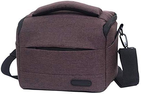 JINGZ Waterproof DSLR Camera Bag for Nikon Canon Sony Panasonic etc Camera Size:Small Durable Color : Gray