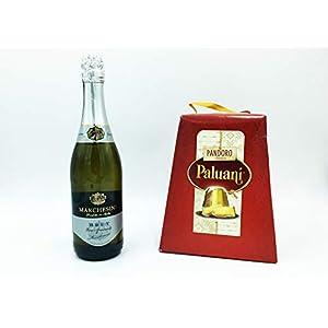 Pandoro Paluani+ 1 bottiglia di Spumante brut MARCHESINI IDEA FESTA