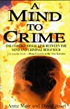 img - for A Mind to Crime by Anne Moir (1997-03-27) book / textbook / text book