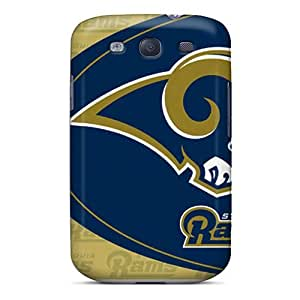 For Saraumes Galaxy Protective Case, High Quality For Galaxy S3 St. Louis Rams Skin Case Cover