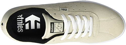 White De Etnies 100 Skateboard Ecru white The Scam Chaussures Homme PqqgEfI