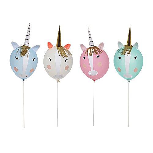 Meri Meri, Unicorn Balloon Kit, DIY Birthday, Party Decorations