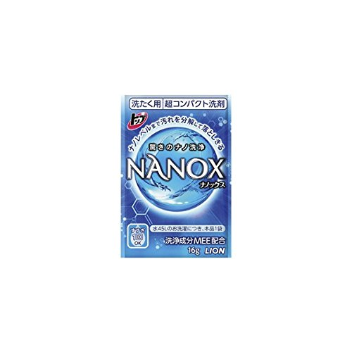 【販促集客ノベルティ】LION トップ ナノックス16g×1包×800点入り B019W6FY08