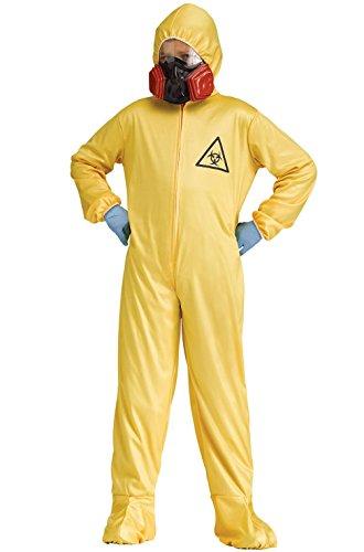 Mememall Fashion Breaking Bad Hazmat Walter White Child Costume (Child Blue Ranger Muscle Costume)