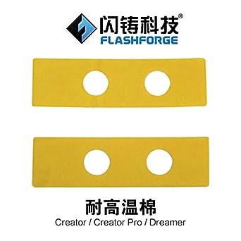 Heasen Flashforge 3D - Boquilla para creador de piezas de ...