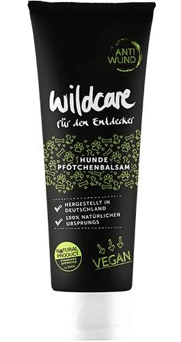 Wildcare 69012 Pfötchenbalsam Anti WUND, 100% VEGAN und zertifizierte Tierpflege, Bio-Rohstoffe