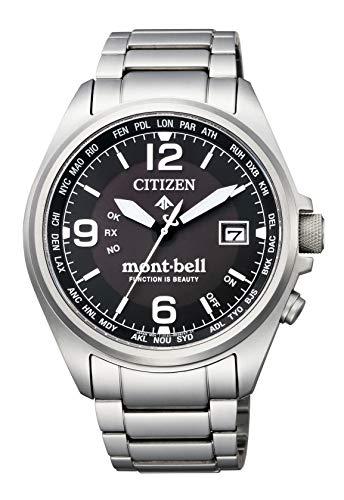 """PROMASTER Eco-Drive Radio Clock""""Promaster x Mont-Bell"""" Collaboration Model 700 This  Men's - CITIZEN CB0171-89E"""